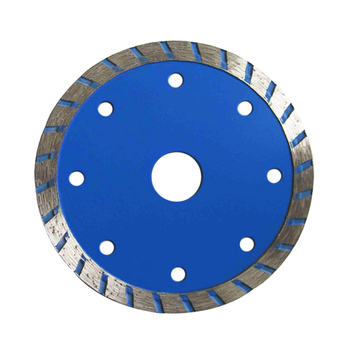 Hot Press Sintered Turbo Blade Diamond Saw Blade for Cutting Stone Granite Marble Concrete Brick