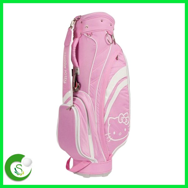 Pink Hello Kitty Ladies Cart Golf Bag