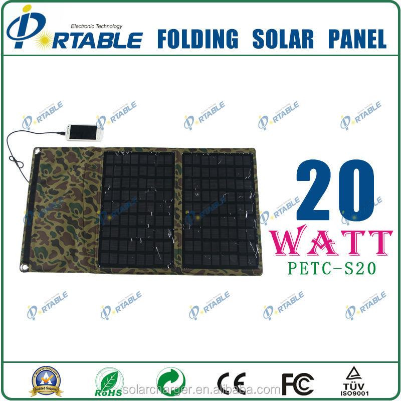 Solar Charger Pad for iPhone iPad Smart Phone Laptop Camping Monocrystalline Silicon Best Price
