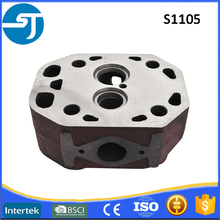 Changfa parts agriculture diesel engine S1105 small 4-stroke cylinder head
