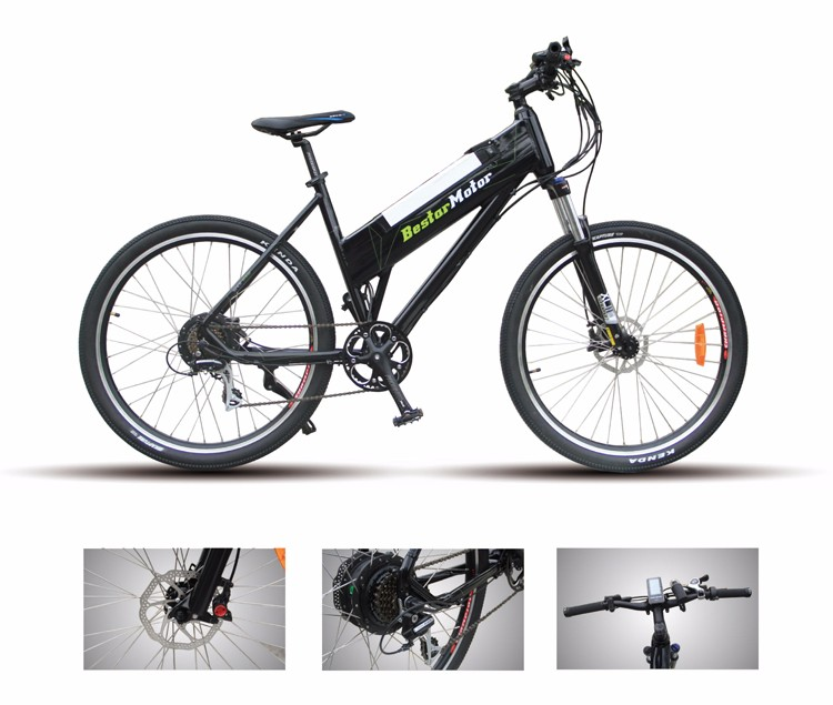 27.5' 48V 500W 2016 Special Designed Frame Fashionable Mountain E-Bike, E Bike