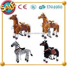 2017 HI CE hot sale large rocking horses for adults