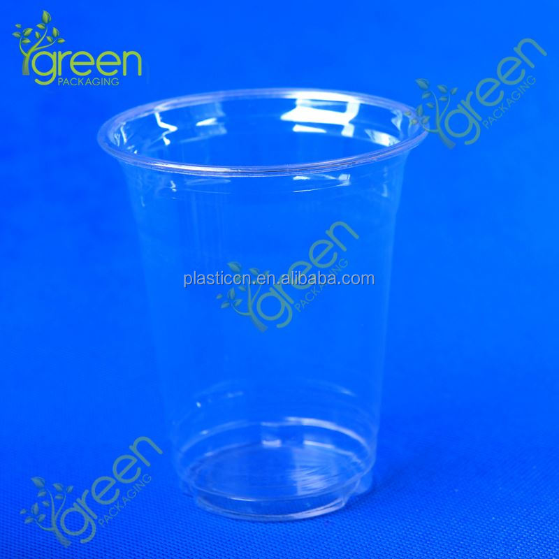 small clear plastic mini cup jelly