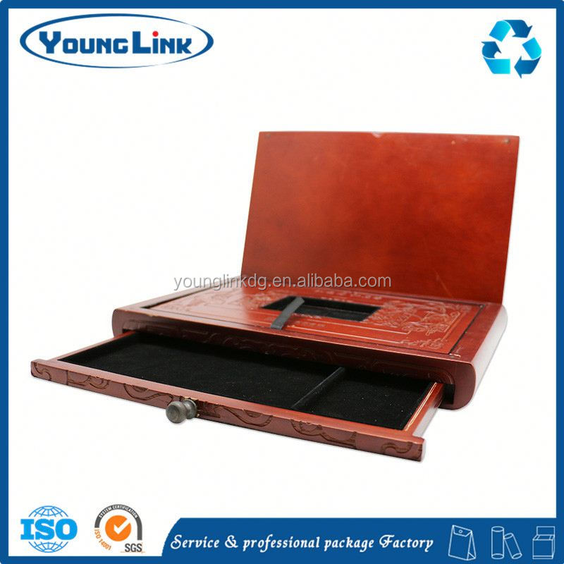 high quality corporate chinese new year gifts giveaways wooden box