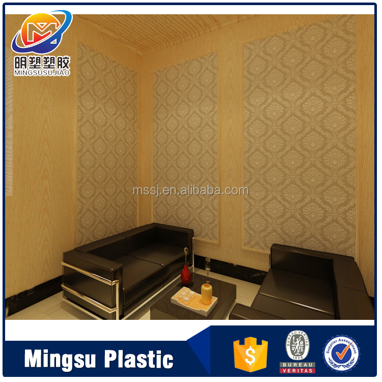 Friendly 3d interior decorative bamboo wall panel