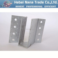 galvanized steel joist hangers / customized brackets / structural steel hanger