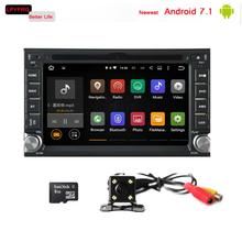 6.2 inch universal android 7.1 auto car gps stereo for hyundai New EF Sonata Gold V6 2g ram built in 3g digital tv dab+ rds bt