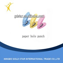 Best selling plastic paper mini punches