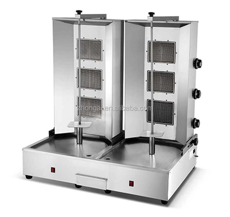 double doner kebab making machine shawarma machine for sale