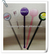 plastic swizzle sticks