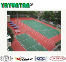 outdoor basketball court paint