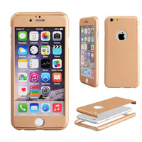 New arrival slim cover for iphone 6 Ultra Thin Full Body Coverage Protection Hard Slim Cases with screen protector