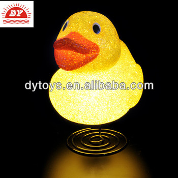 Customized Made LED light Toy,cute duck deduction ,ICTI manufacture