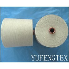 Cotton / Polyester / Flax 45 / 45 / 10 Ne 10s Yarn ring spun Good quality