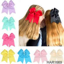 FengRise Fashion Wide Ribbon Bows Elastic Hairbands Baby Hair Accessories Swallow Tail Ring Butterfly Bows Hairbands
