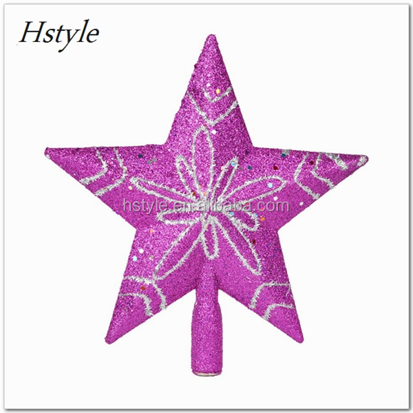 New Gold Christmas Tree Topper Star Decoration XMAS Tree Ornament Xmas Tree Star Cheap You Can Choose More Than One Size SSD165