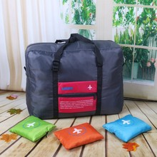 Wholesale Cheap folding travel storage bags organizer pouch with printing