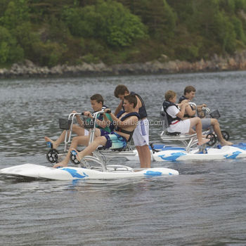 Newly Water Park Equipment Adult Water Bike For sale