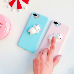 Top Trending Products 2017 hot selling 3D soft Squishy Toys Case TPU Phone Cover for iPhone 7 7 plus , case for iphone6 6 plus