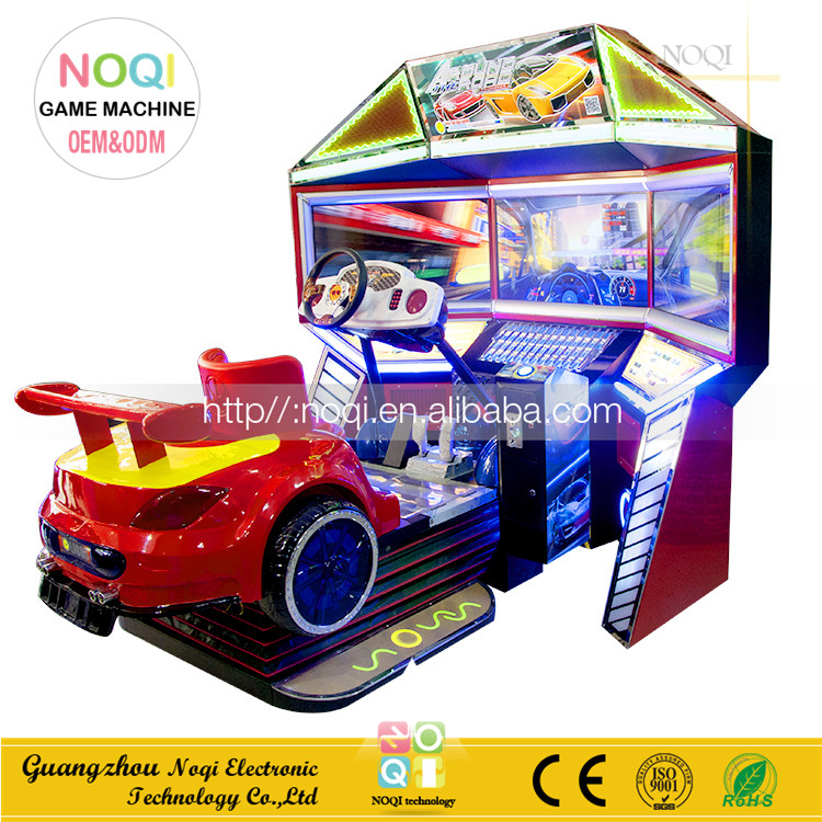 High quality Century travel Racing Full Motion 3D with 3 video racing game machine coin operated games with competitive price