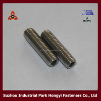 Wholesale Stainless Steel Hexagon Socket Blind Screw Set With Cup Point DIN916