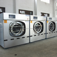 Industrial coin operated washing machine