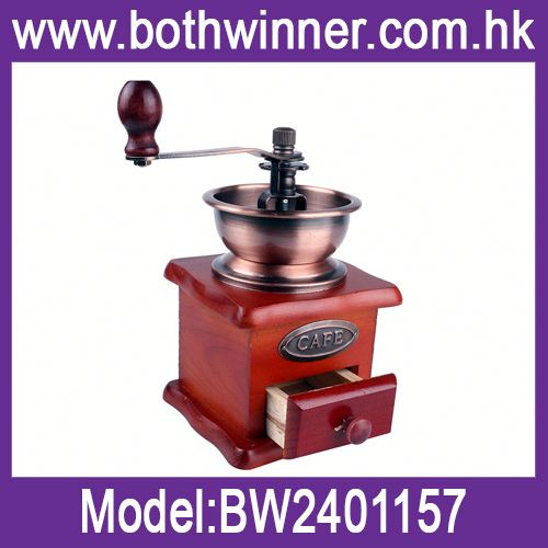 Coffee hand grinder h0t8L hand rolling manual coffee mill for sale