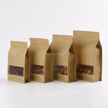 Octopus closed window self - reliance self - reliance kraft paper bag dried fruit compound food packaging tea packaging