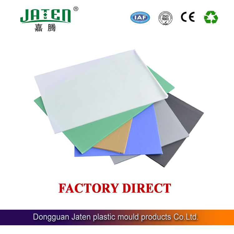 Jaten 2mm-12mm multicolor &multipurpose&recyclable anti UV plastic hollow correx boards/sheets ,factory production in China