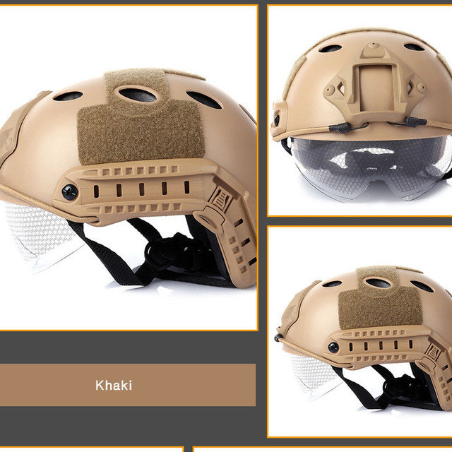 Army Military Tactical Helmet Cover Casco Airsoft Helmet Accessories Emerson Paintball Fast Jumping Protective Face Mask Helmet