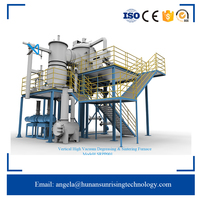 Vertical High Vacuum Furnace For Degreasing