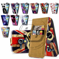 For Samsung Galaxy Core I8262 High Quality Print Flip PU Leather Case Cover Moible Phone Case