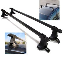 "Universal Pair Car Top Luggage Kayak Cargo Cross Roof Rack Carrier 48"" SUV"