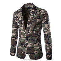 Men Blazer Camo Printing Designs