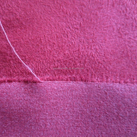 7S 10S warp suede microfiber polyester cotton suede fabric for garment sofa cushion