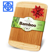 wholesale large custom multi-function food wooden bamboo chopping board