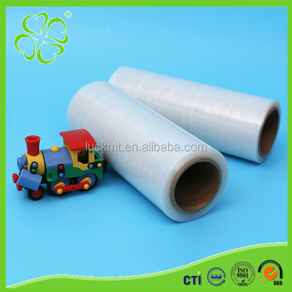 Plastic Wrap Transparent LLDPE Pallets Protected Stretch Film