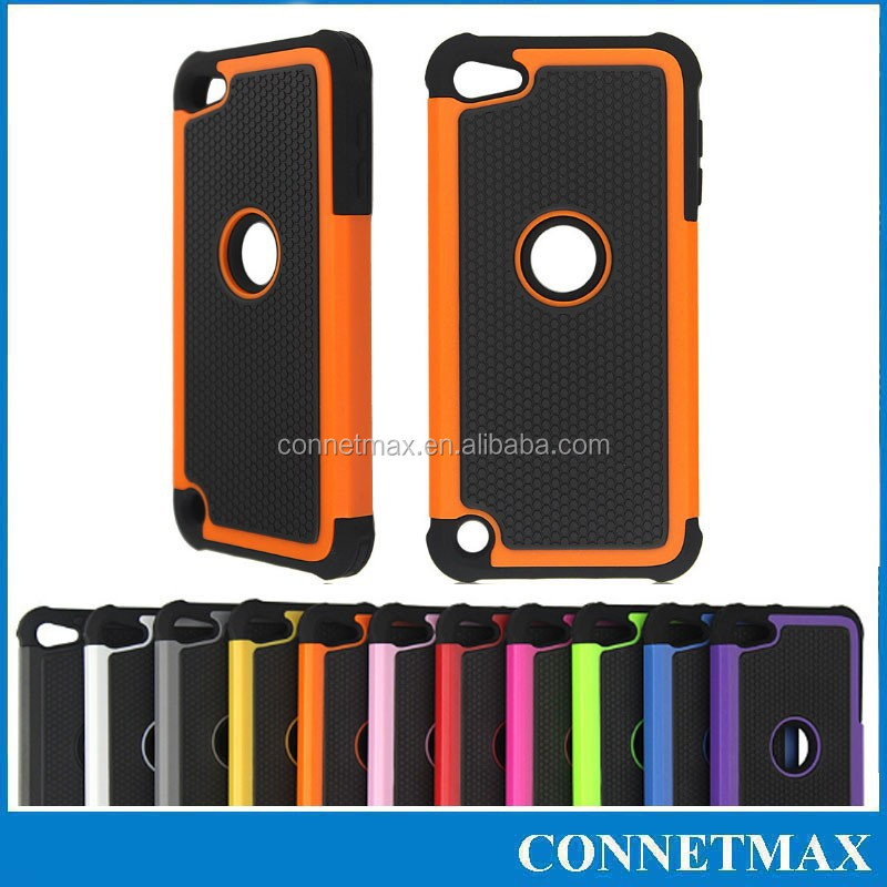 Shock Proof Dual Layer Silicone Hard Case Cover For Apple iPod Touch 5 G