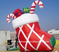 high quality inflatables/outdoor inflatable christmas grinch and socks for sale