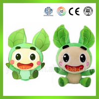 Low price custom stuffed moving plush toy doll for children