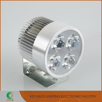CE,RoHS For motorcycle ,electromobile 8w led headlight strong waterproof Aluminium &Glass