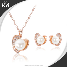Wholesale Fashion new model Pearl Jewelry Necklace Earring Set China