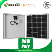 Best price portable 50watt 50w solar panels for camping camper home roof
