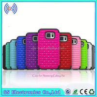 Cheap beautiful fashion design Bling Diamond 3 in 1 Silicone&PC mobile phone cases for Blackberry 9360