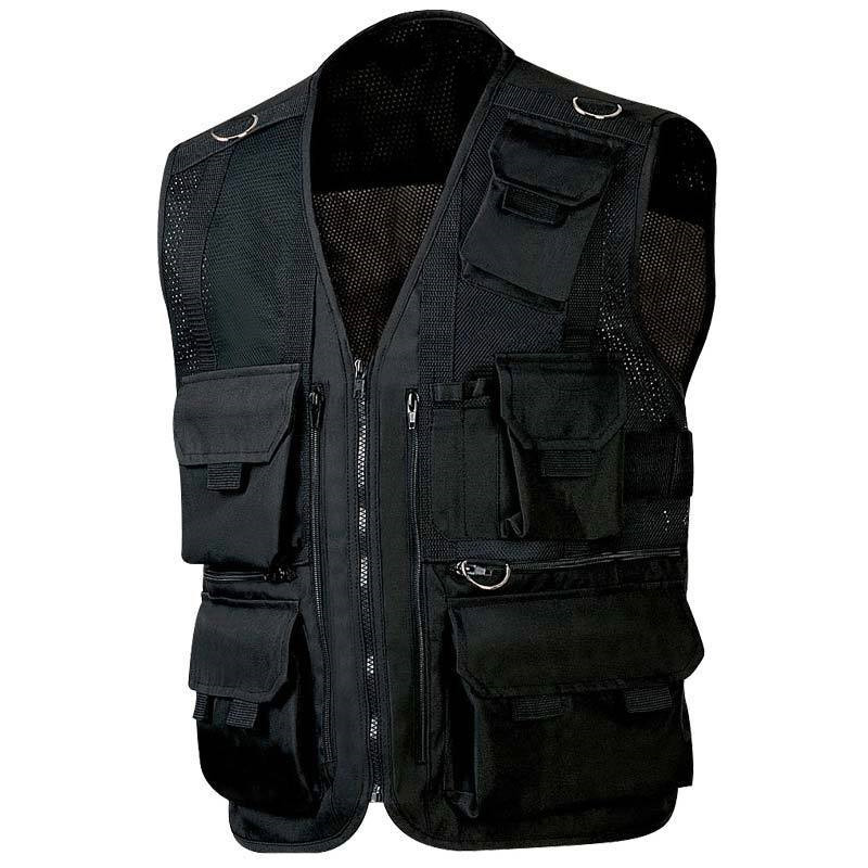 New Multi Pockets Fly Fishing Hunting Mesh Vest Travel Outdoor Jacket