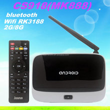 Android 4.2 RK3188 CS918 MK888 Quad Core Mini PC RJ-45 USB WiFi XBMC Smart TV Media Player Cortex A9 tv box android 4.2