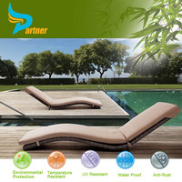 metal wire mesh rattan outdoor lounges