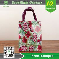Fabulous Flower Designs PVC Women's Bag