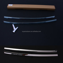 Popular adhesive auto stainless steer trims 2017 new chrome car body decoration