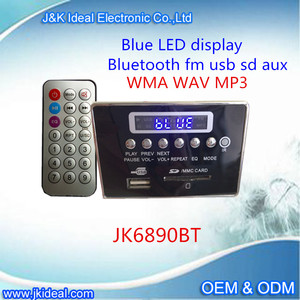 JK6890BT fm kit mp3 usb sd aux auido descodificador Modulo mp3